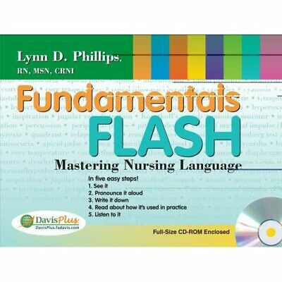 Fundamentals Flash: Mastering Nursing Language - Paperback NEW Phillips, Lynn  J