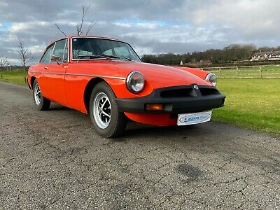 MGB GT now sold