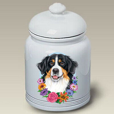 Bernese Mountain Dog Ceramic Treat Jar TP 47051