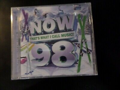 Cd Double Album - Now Thats What I Call Music 98 - New And Sealed