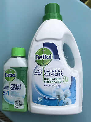 Dettol Laundry Cleanser And Washing Machine Cleaner 😀🌈💝