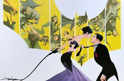 JAE LEE rare CATWOMAN print 11 x 17 SIGNED limited VARIANT COVER Batman LAST ONE