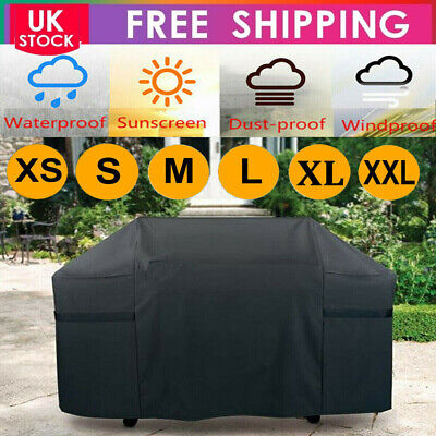 Lager BBQ Cover Heavy Duty Waterproof Rain Gas Barbeque Grill Garden Protector-Y
