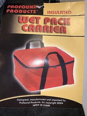 Professional Catering- Insulated Wet Pack Carrier/cooler 30can Capacity -Black