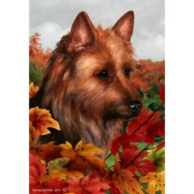 Fall Garden Flag - Australian Terrier 132031