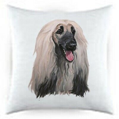 Afghan Hound Satin Throw Pillow LP 44087