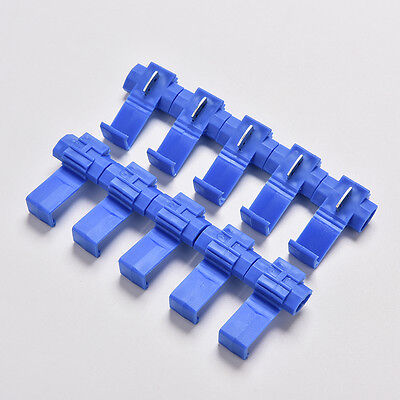 50x Electrical Cable Connectors Wire Terminals Crimp Fast Quick Splice Lock JG