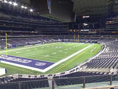 3 Tickets Dallas Cowboys V.s Cleveland Browns Oct.4 Sec.243 Row 1.Great Seats