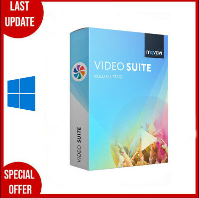 Movavi Video Suite 2020 ✔️Lifetime Licence Key✔️multilingual✔Fast Delivery✔