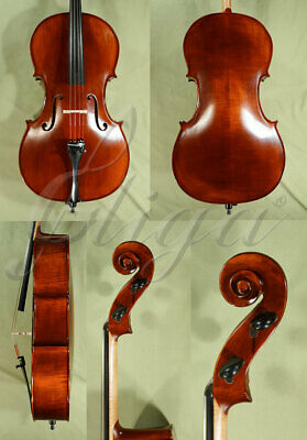 European FULL SIZE 4/4 STUDENT Level 'GEMS 2' Antiqued CELLO from ViolinsLover