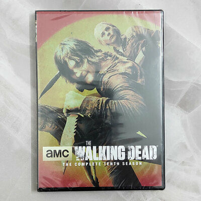 The Walking Dead season 10 (DVD, 5-Disc Set) New Sealed Fast Shipping US Seller