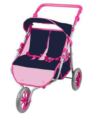 Twin Jogger/Stroller for dolls