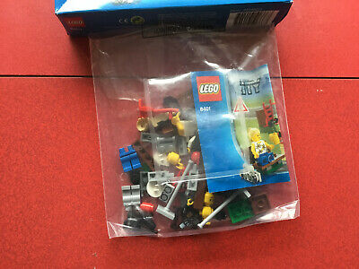 LEGO Workman And Trolley Minifigure City Delivery Man Construction