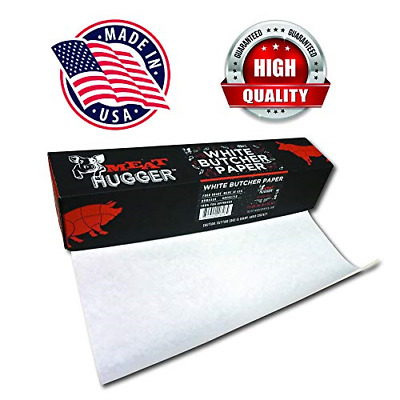 White Butcher Paper Dispenser Box Food Grade Meat Packing and Wrapping Paper