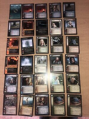 Lord of the Rings LOTR CCG TCG Mount Doom Foil common cards 1//6