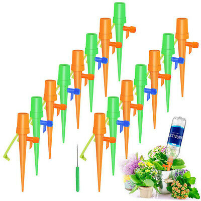 Top Automatic Garden Cone Watering Spike Plant Flower Waterers Bottle D Ly