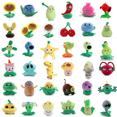 Plants Vs Zombies Plush Toy Sets Baby Stuffed Soft Doll Kids Funny Birthday Gift