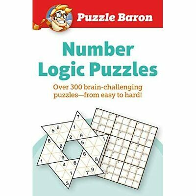 Puzzle Baron Number Logic Puzzle: 400 brain-challenging - Paperback / softback N