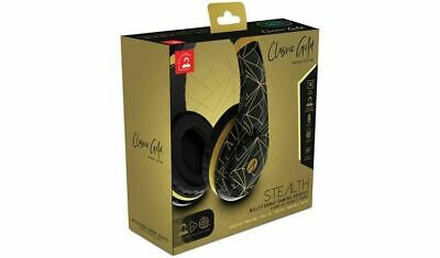 Playstation 4 Gaming Chat Headset + Mic * Stealth Classic Gold Ps4 Pc *