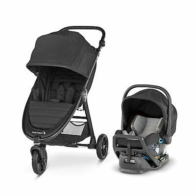 Baby Jogger City Mini GT2 Travel System, Jet - NEW! [See Details]