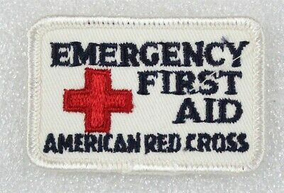 """First Aid patch Red Cross Instructor 2 1//2/"""" rectangle"""