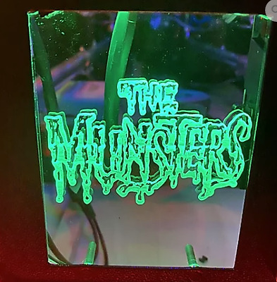 The Munsters Pin Plate Coin Door Mod