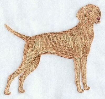 Large Embroidered Zippered Tote - Vizsla C9619