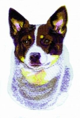 Large Embroidered Zippered Tote - Australian Cattle Dog BT3606