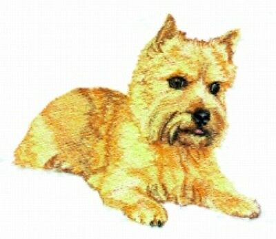 Large Embroidered Zippered Tote - Norwich Terrier BT3985