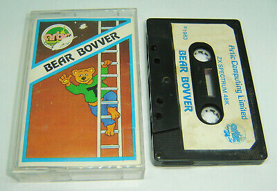 Bear Bovver From Artic Computing Rare Sinclair Zx Spectrum Game Tape