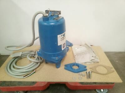 Goulds Water Technology WS2034BHF 2 HP 3450 RPM 460VAC Sewage Ejector Pump