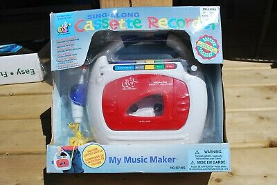 Vintage Sing-Along Cassette Recorder, 1997 Dsi Toys Inc, New In Package
