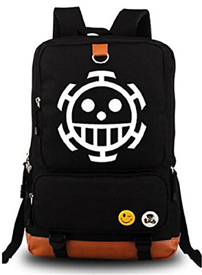 Gumstyle Anime One Piece Luminous Large Capacity School Bag Cosplay Backpack and