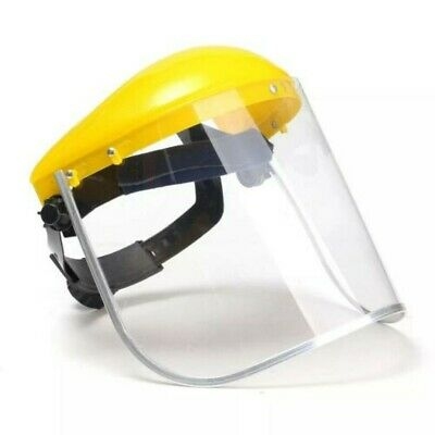 Facial Shield Industrial Full Face Cover Visor Clear Googles Protect Cover