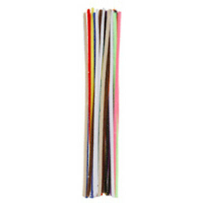 """Pack of 25 12"""" Pipe Cleaners / Chenille Stems - Multi"""