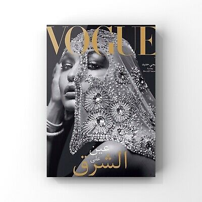 Fashion print Vogue cover wall art poster bedroom office beauty room size A4