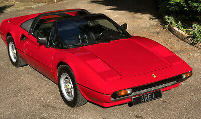 1981 FERRARI 308 GTS Lhd   1 OWNER 35 YEARS  low miles History from new