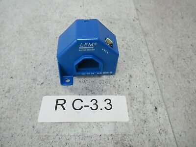 LEM LA205-S Current Transformer Unused