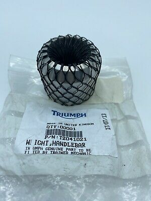 New - Triumph, Weighted Handlebar, P/N T2041021