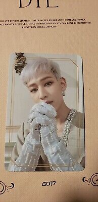 GOT7 | DYE Official Photocards
