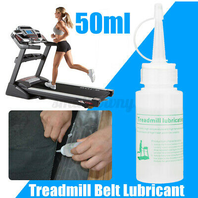 2pcs/set 50ml Clear Silicone Oil Lube Treadmill Belt Lubricant Running