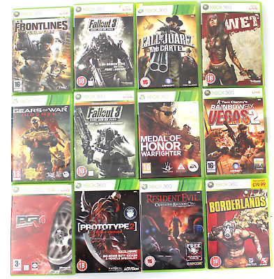 Xbox 360 Games (very good)