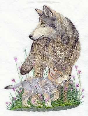 Embroidered Fleece Jacket - Spring Wolf C5504 Sizes S - XXL