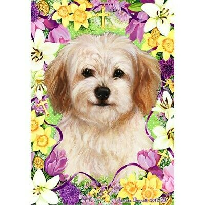 Easter House Flag - Cavachon 33463