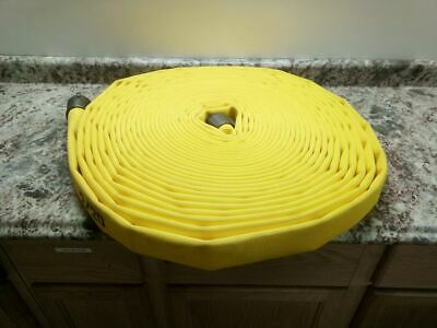 Jafline G51H15LNY100N 1-1/2 In Inside Dia 100 Ft L Yellow Attack Line Fire Hose