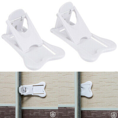 Sliding Door Lock for Child Safety Baby Proof Doors Closets Childproof Ho  TY