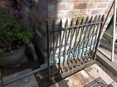 Very old Cast iron gate. Heavy reclaimed. Very heavy. Cash on collection only.