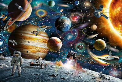 Jigsaw Puzzles 1000 Piece Adults Kids Growups Puzzle Toys Space Travelling