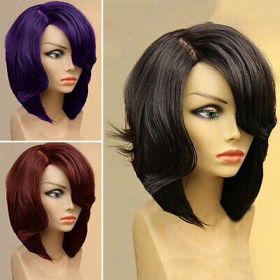 Women Ladies Short Bob Style Wig Fancy Dress Cosplay Wigs Pop Party Costume UK