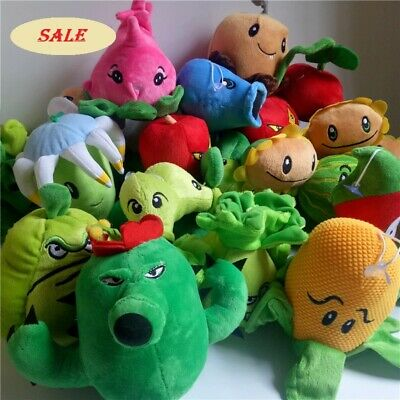 27 Styles Plants vs Zombies PVZ Figures Plush Toy Stuffed Soft Doll Free Shiping